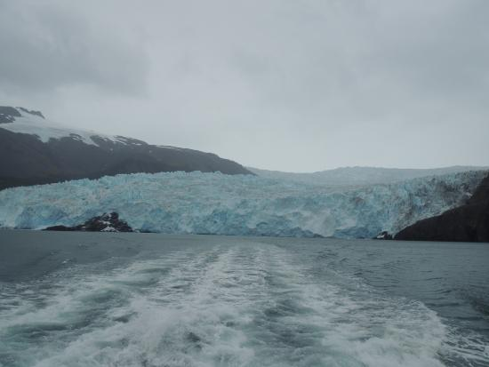 Seward, Alaska: Uma das geleiras do passeio