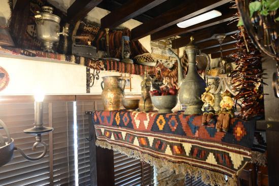 Armenian village interior picture of ararat restaurant for Ararat armenian cuisine