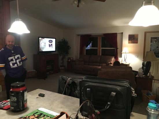 Lead, Dakota del Sur: Spacious living room space