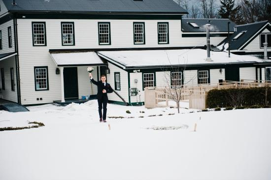 Grafton, Kanada: Guest House - Winter