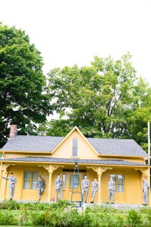 Grafton, Kanada: Pumpkin Cottage - Groomsmen