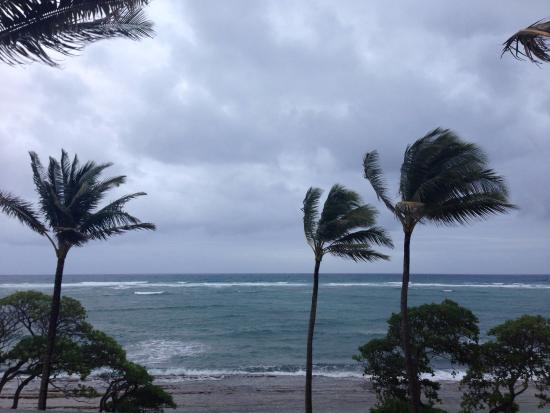 Kapaa Shores: Ocean view.