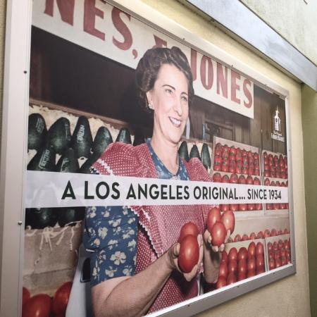 Beverly Hills, CA: The Original Farmers Market Los Angeles, still going strong since 1934.
