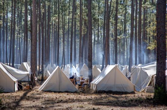 Olustee, FL: Civil War Encampment