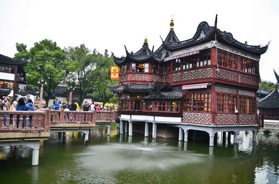 Wonderful Yu Garden (Yuyuan): The Famous Old Tea House Amazing Pictures