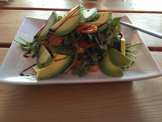 Mint: Roasted Carrot and Avocado Salad (very flavorful)
