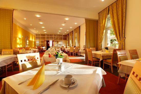 Strandhotel Alte Donau: Breakfast