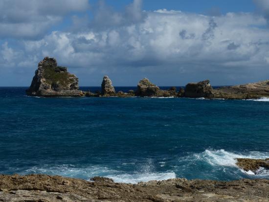 Saint Francois, Guadeloupe: La pointe des Châteaux