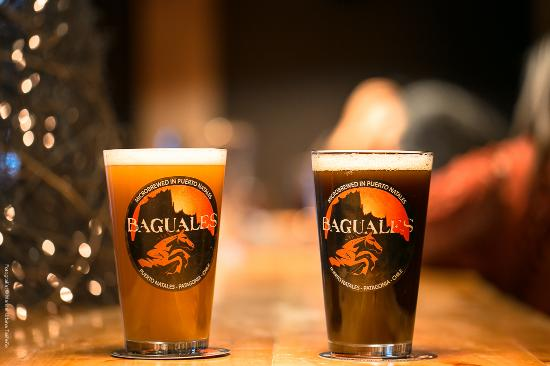 Cerveza Baguales: Rubia y Negra
