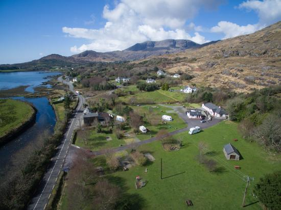 Hungry Hill Lodge and Campsite: Aerial view