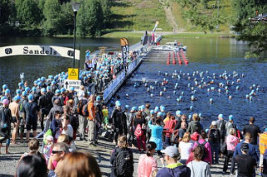 Tahkovuori, Finlande : Tahko Triathlon