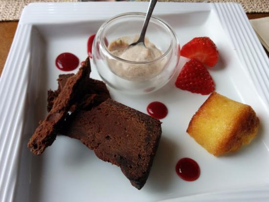 Riscle, France: Dessert