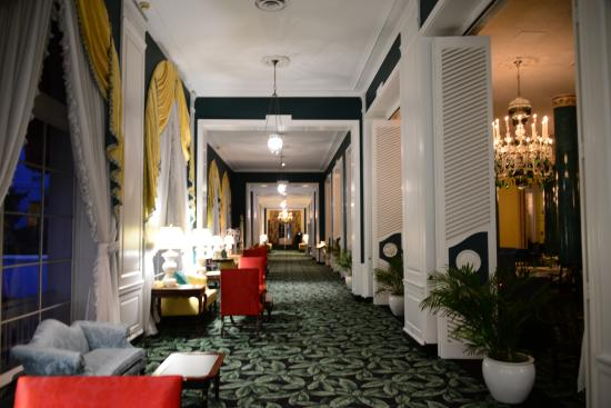 The Greenbrier: Hall way by Main Dining room