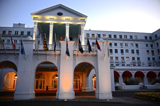 The Greenbrier: Main Entrance