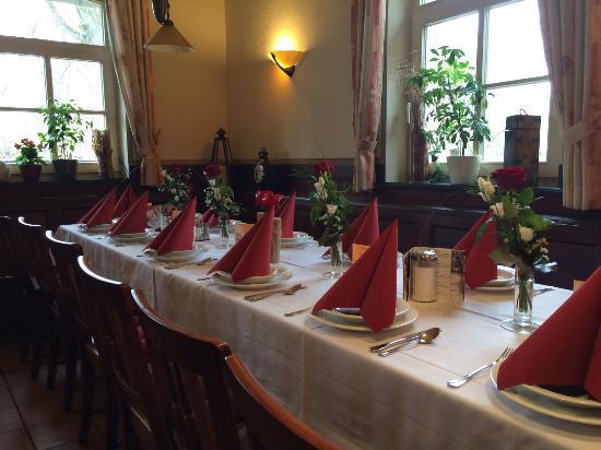 Pleinfeld, Tyskland: Familienfeier