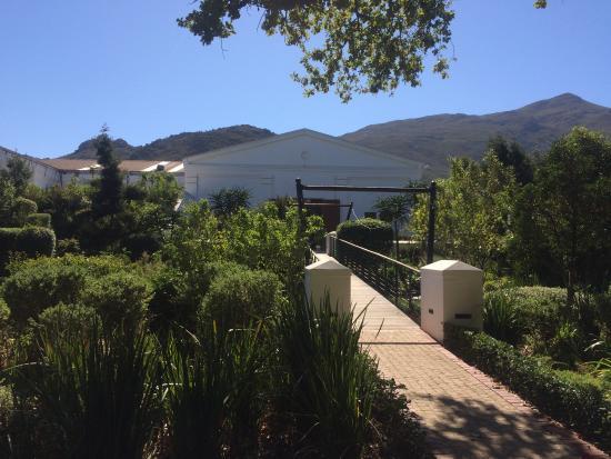 Franschhoek, Sør-Afrika: Lovely garden