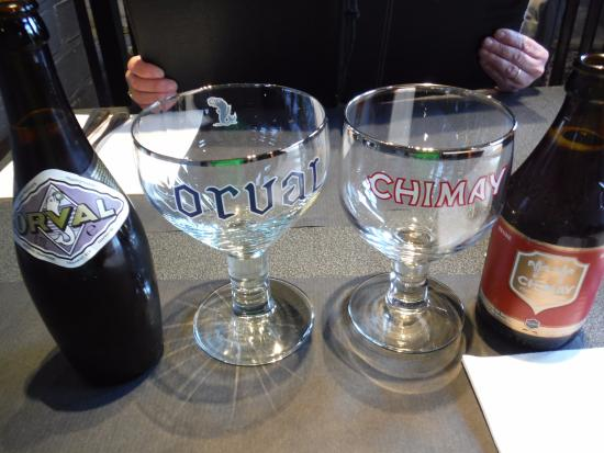 Westouter, Bélgica: Classic Trappist beers available