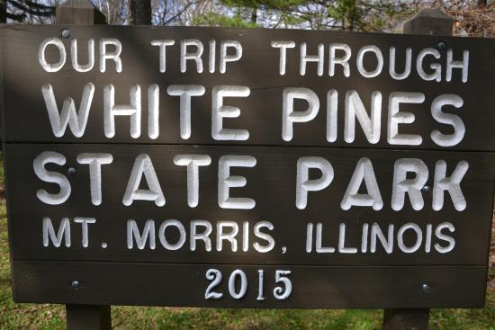 Mount Morris, IL: Visitor Sign