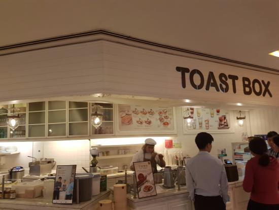 Toastbox: Snacks and beverage on the Go