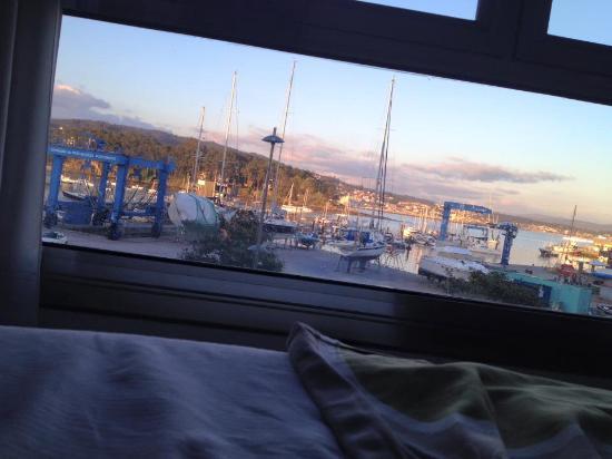 Hotel Varadoiro: Aussicht vom zweiten Stock aus