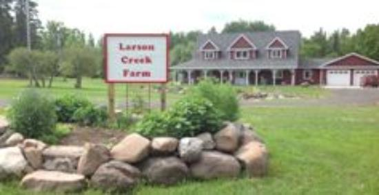 Port Wing, WI: Larson Creek Farm