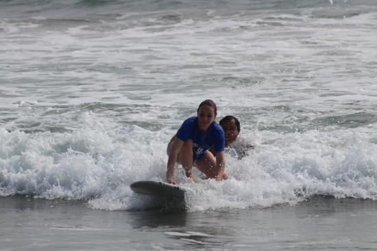 Playa Grande, Costa Rica: nice and easy like Johel showed