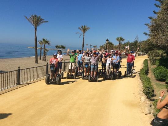 Marbella Segway Tours: gGrupo de empresa española