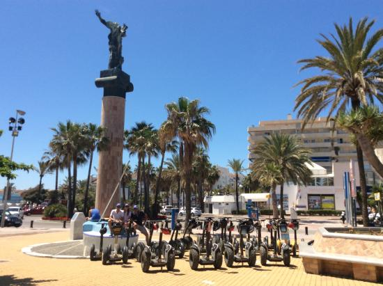 Marbella Segway Tours: Nuestra flota de Marbella