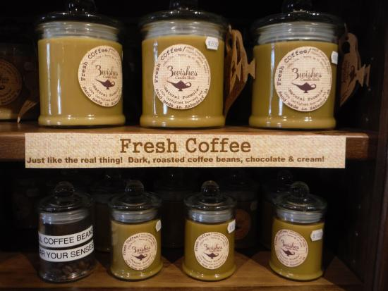 Coffee Scented Candles Genius Picture Of The 3 Wishes Candle Barn Hahndorf Tripadvisor
