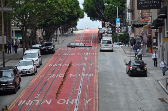 San Francisco Streets Hills
