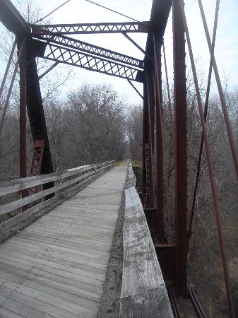 Menomonie, WI: historic bridge