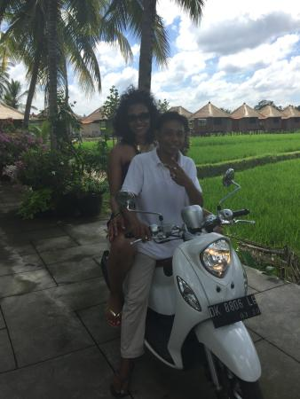 Scooter To And From Main Road To Villas Picture Of Luxe Villas Bali Ubud Tripadvisor