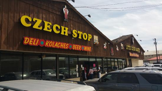 West, TX: Front of Czech Stop