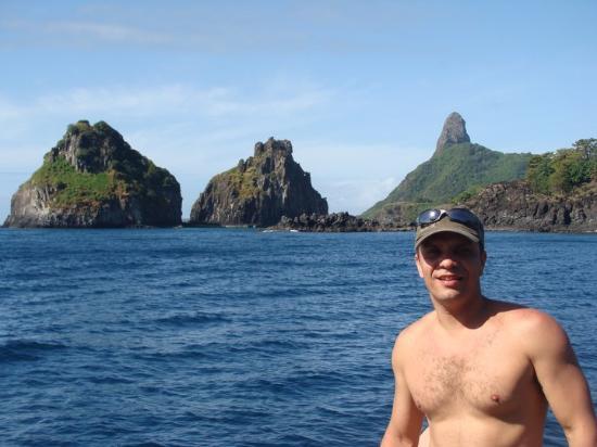 Pousada Brisa Mar: passeio de barco com churrasco a bordo e muito mergulho