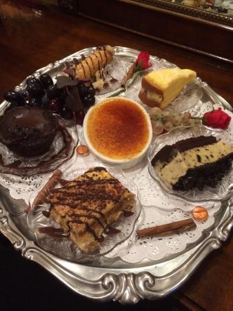 Dalesio's Restaurant : Dalesios dessert tray