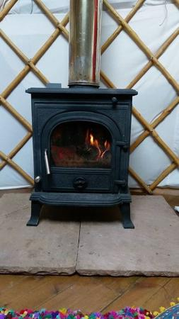 Armathwaite, UK: Log burner!