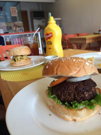 Cheddar Burst Burgers