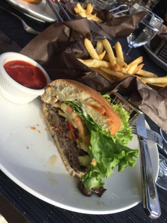Bisson Burger and Fries