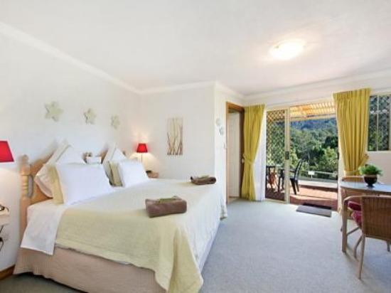 A View of Mt Warning Bed and Breakfast: spacious ensuited suites