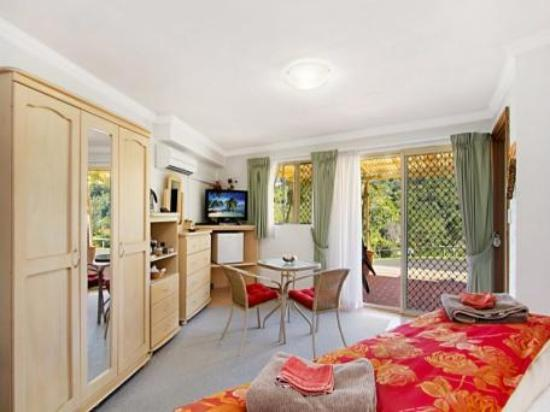 A View of Mt Warning Bed and Breakfast: Many amenities in room