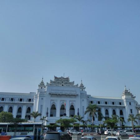 Yangon Region, Birma: yangon city hall