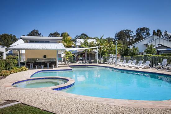 Ivory Palms Resort Noosa: 2nd pool area