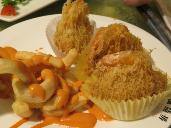 Richmond Hill, Canadá: Fried Taro Croquettes