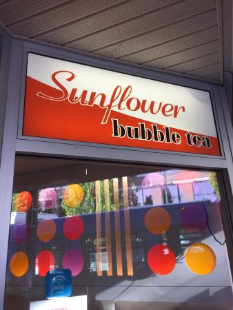 Sunflower Bubble Tea