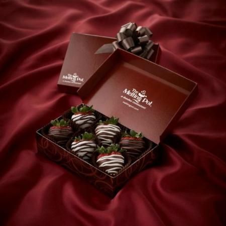 San Mateo, Kalifornien: Chocolate Covered Strawberries