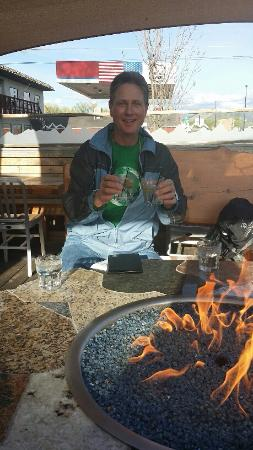 Silt, CO: Drinks by the fire