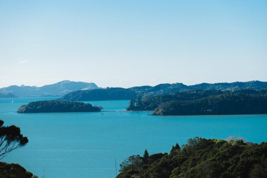 Opua, Nuova Zelanda: View from The Sanctuary@Bay of Islands