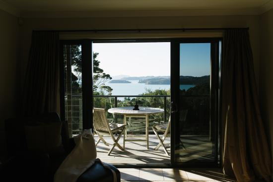 Opua, New Zealand: Room with a view