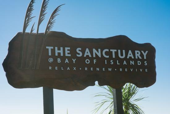 "Opua, Nueva Zelanda: The Sanctuary "" relax, renew, revive"""