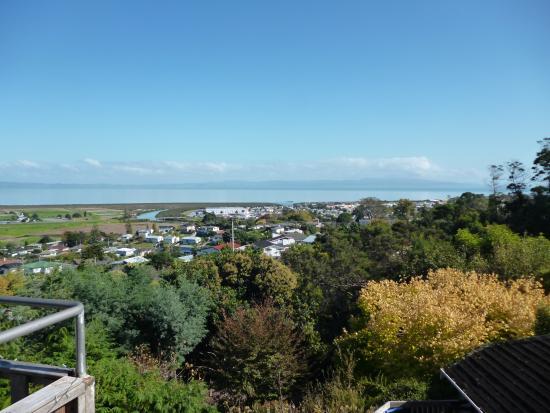 Τάμεσης, Νέα Ζηλανδία: View from our deck.